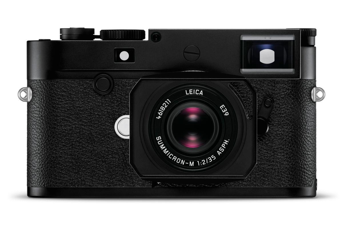 Leica taps into film camera nostalgia for the M10-D rangefinder