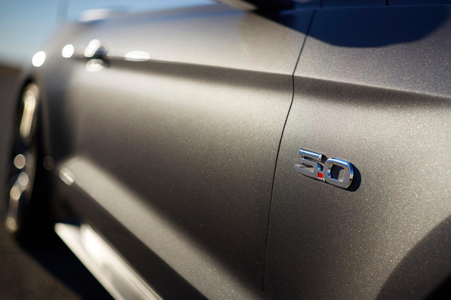 The new 2015 Mustang can be specced with a six-speed manual or automatic gearboxes