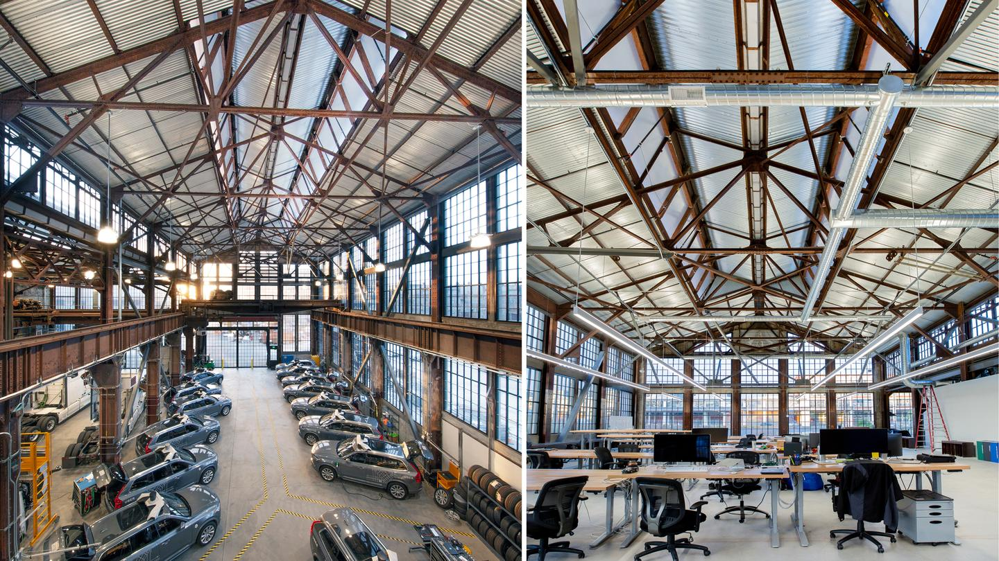 An Historic Shipyard Reincarnation is located in San Francisco, California, and was designed by Marcy Wong Donn Logan Architects