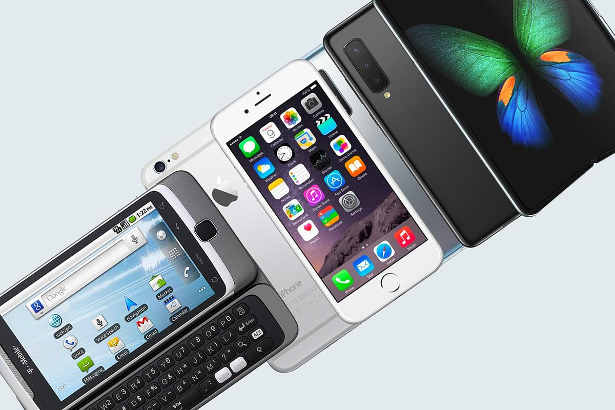 From slide-out keyboards to foldable phones