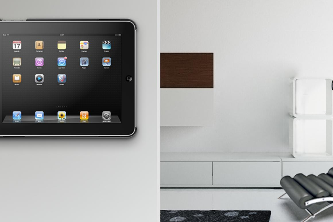 Vogel's RingO universal mounting system is compatible with a variety of iPad mounts for different locations