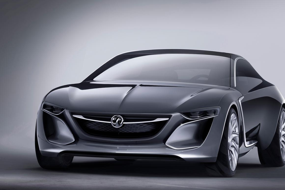 Vauxhall Monza Concept to feature LED projection