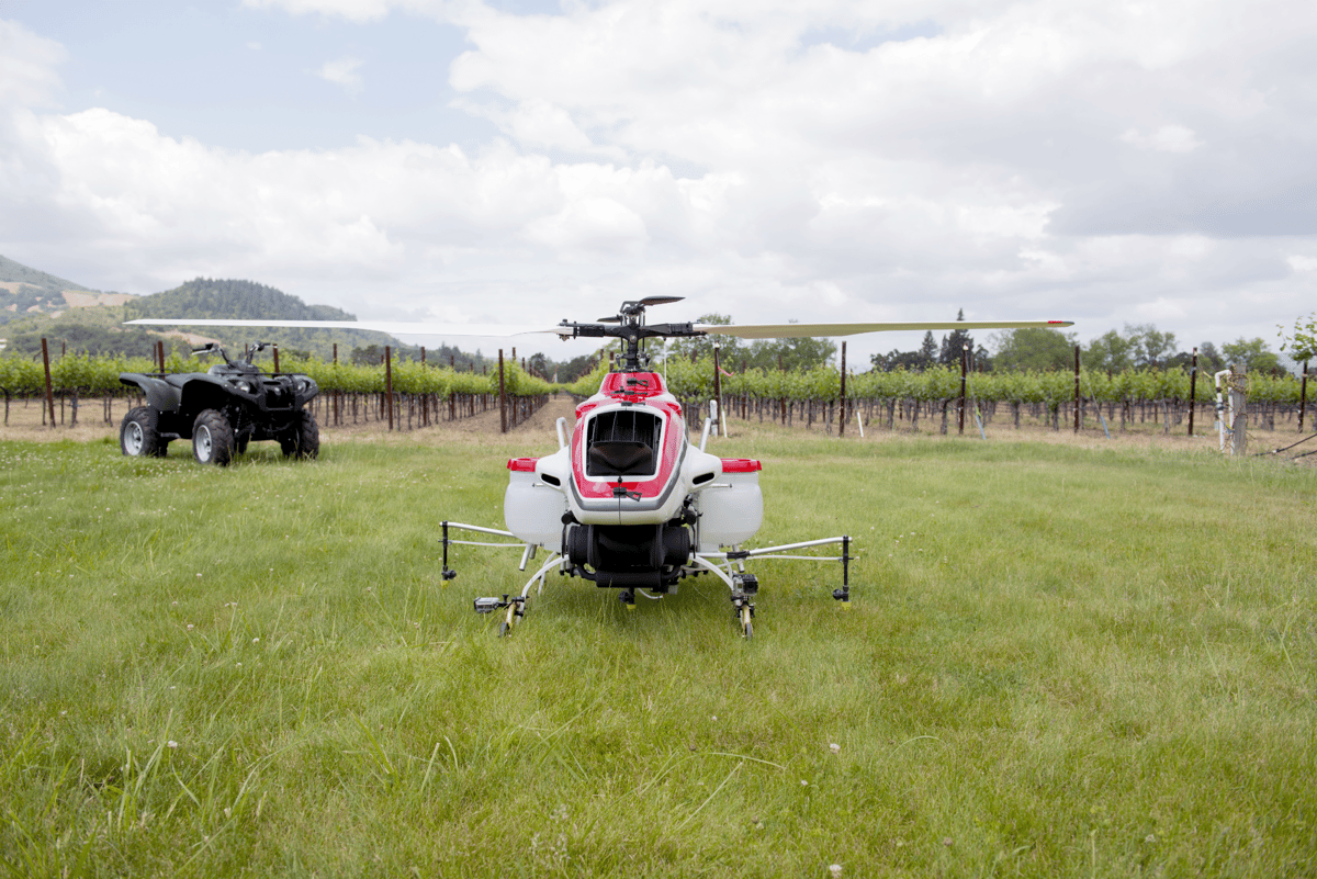 About 2,400 RMax helicopters are in use in Japan