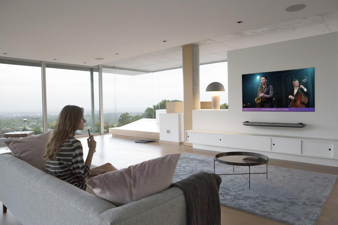LG's 2018 TVs can be voice controlled, thanks to the ThinQ platform