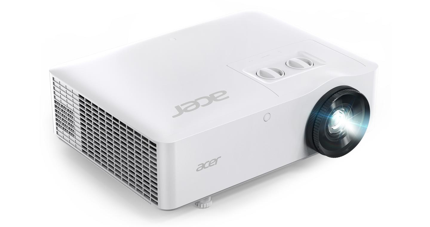 The PL series laser projectors throw 1,920 x 1,200 resolution images at up to 6,000 ANSI lumens