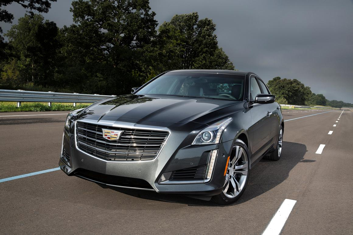 GM's first commercial V2V system will debut on the 2017 CTS