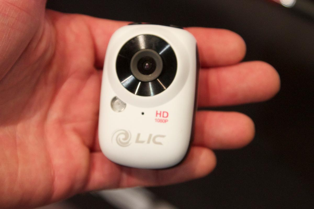 Liquid Image has unveiled its tiny new HD actioncam, the EGO
