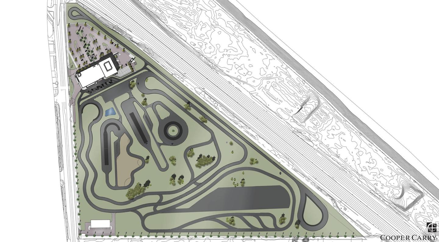 Visitors will be able to test their driving mettle on a track and handling course