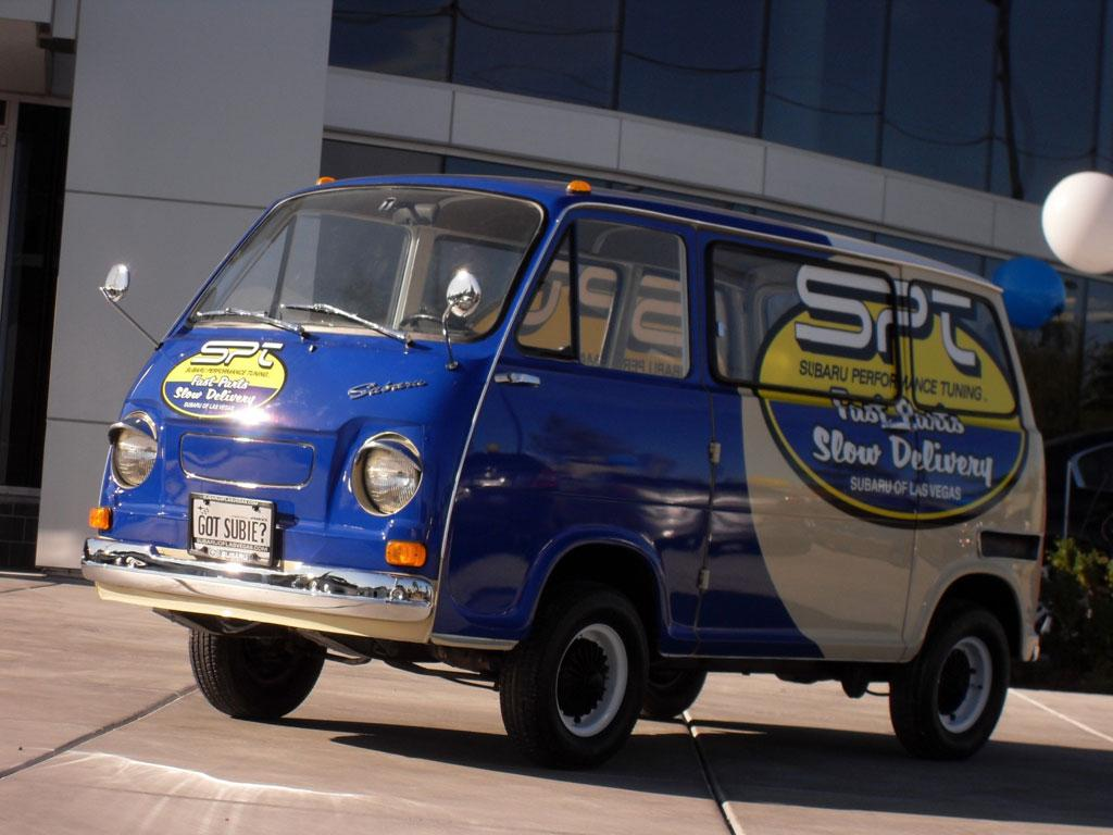 The 66mpg blast from the past - SPT delivery van
