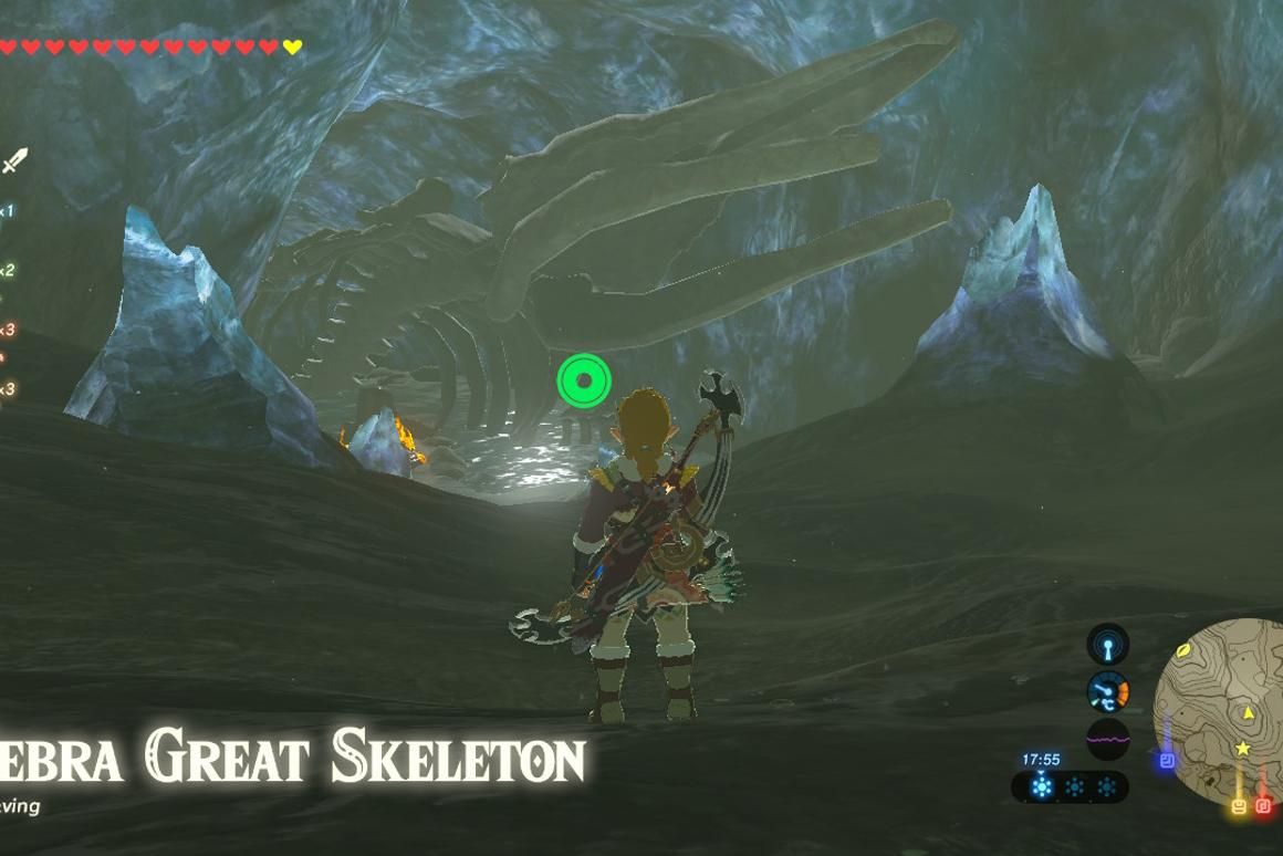 How to complete the Leviathan Bones side quest in Breath of