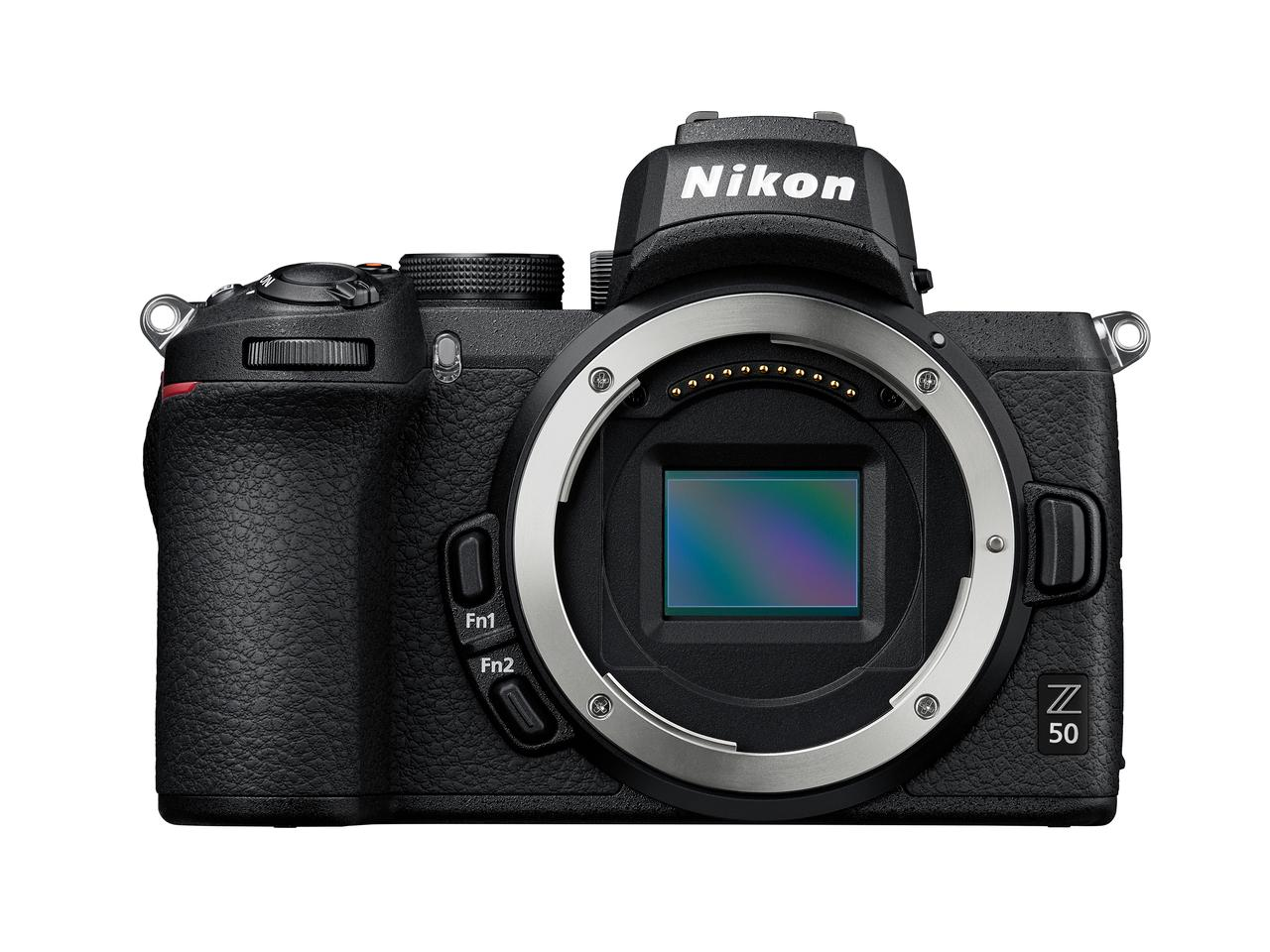 The Nikon Z 50 is built around a 20.9 MP APS-C CMOS sensor