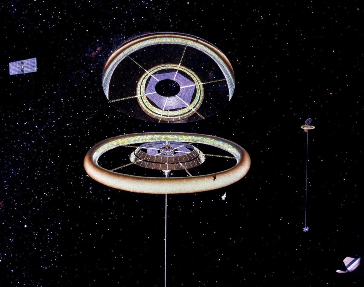 A toroidal colony, byDon Davis