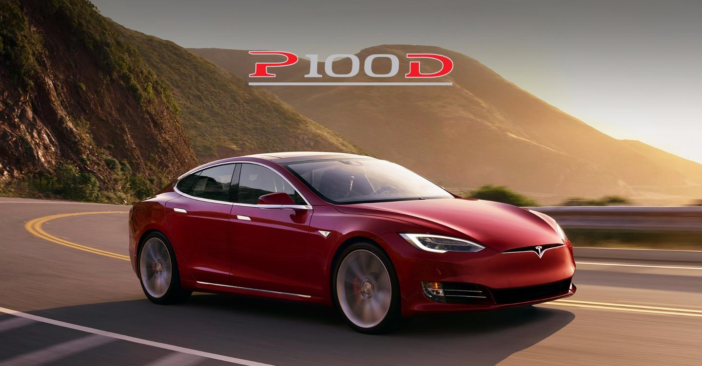 The Tesla Model S P100D is the fastest accelerating car on the market