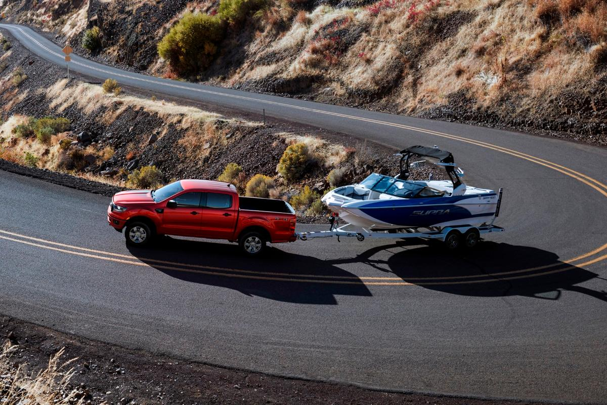 The Ranger will be powered by a small 2.3-liter turbocharged engine that Ford claims will offer best-in-class towing