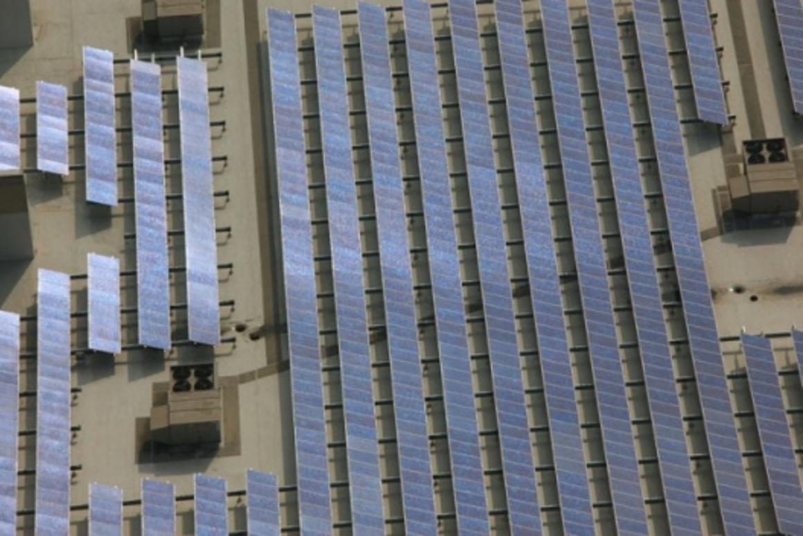 65 million square foot solar panel installation