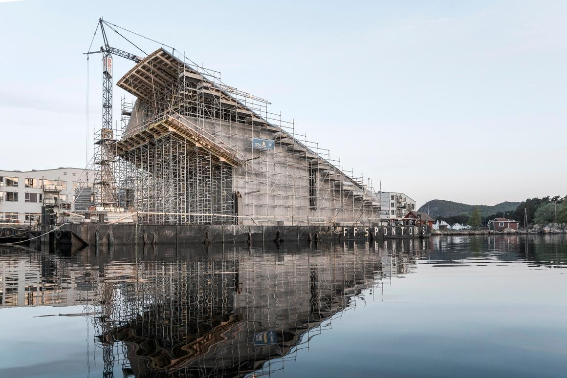 Europe's first underwater restaurant, appropriately-namedUnder, is due to be completed in early 2019