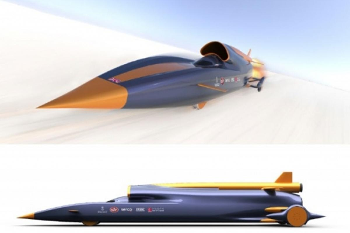 1000mph land speed bidImage: curventa