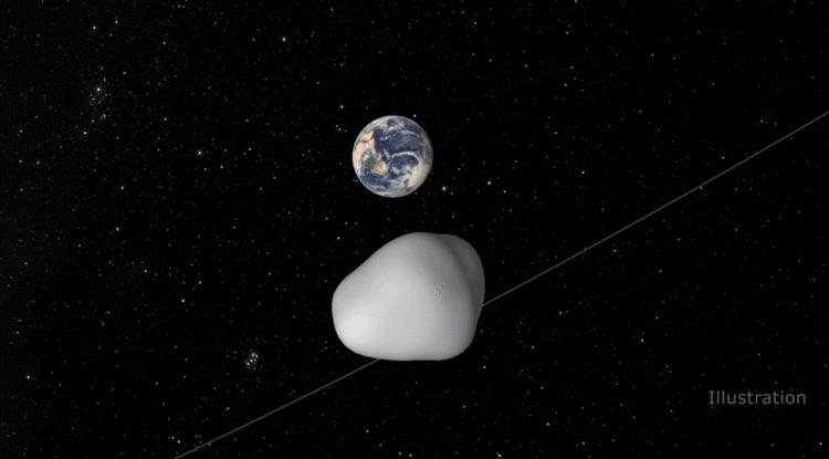 """Astronomers have had acloser look at 2016 HO3, a """"quasi-satellite"""" asteroid, to learn more about our littletraveling companion"""