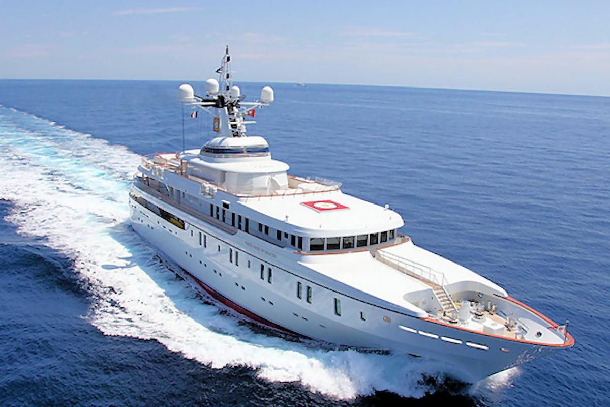 The 213-foot White Rose is the US$80M megayacht whose GPS navigational system was spoofed by about $2,000-$3,000 worth of equipment (Photo: U of Texas at Austin)