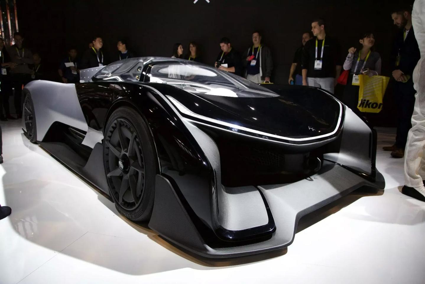 FFZERO1 Concept vehicle