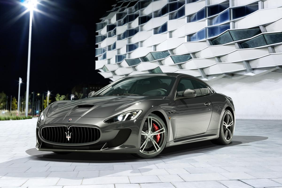 New Maserati GranTurismo MC Stradale