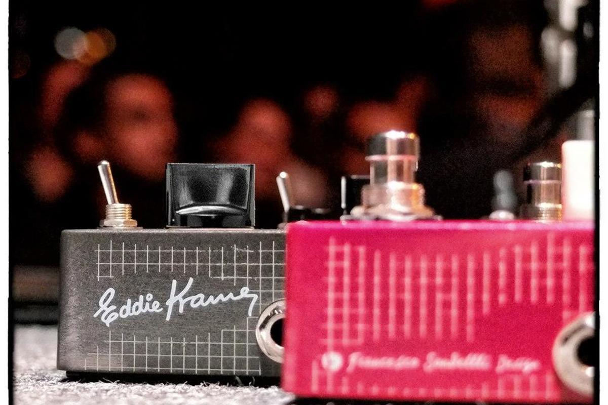 The wirelessly-powered Eddie Kramer Series F-Pedals
