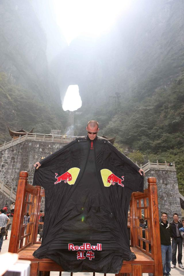 Jeb Corliss Picture courtesy of World Wingsuit League
