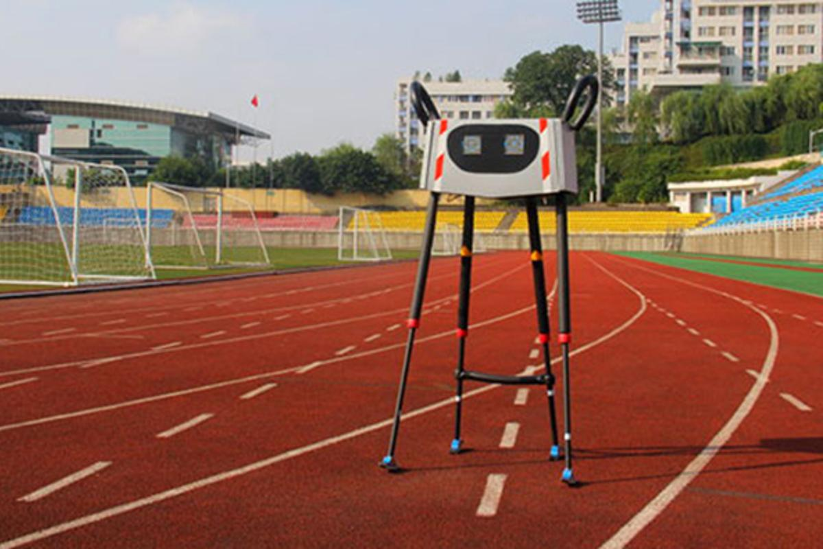 Xinghe No.1 has set a new record for the longest distance covered by a four-legged robot