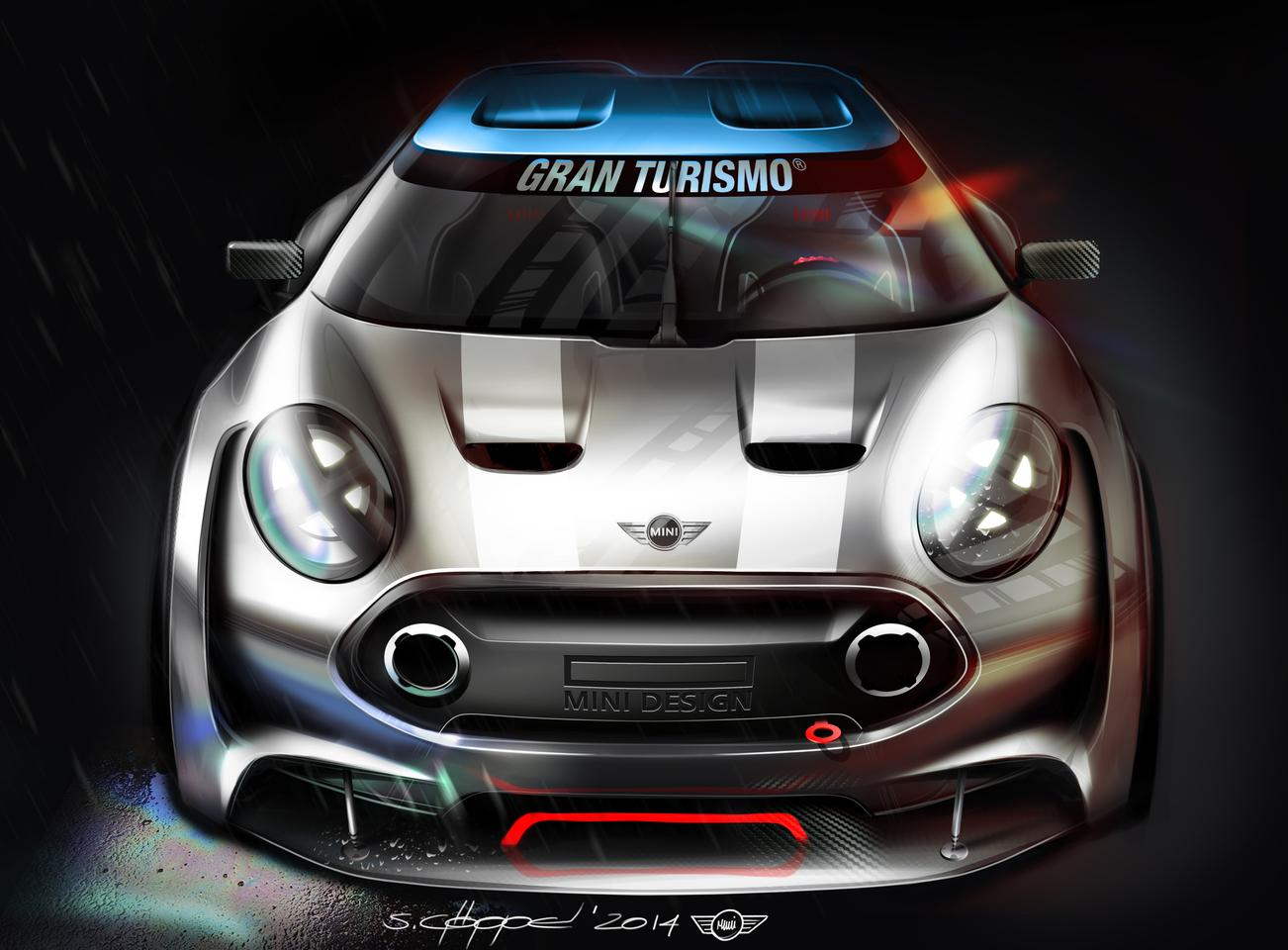 The Mini Clubman Vision Gran Turismo will be available as a game update in Gran Turismo 6