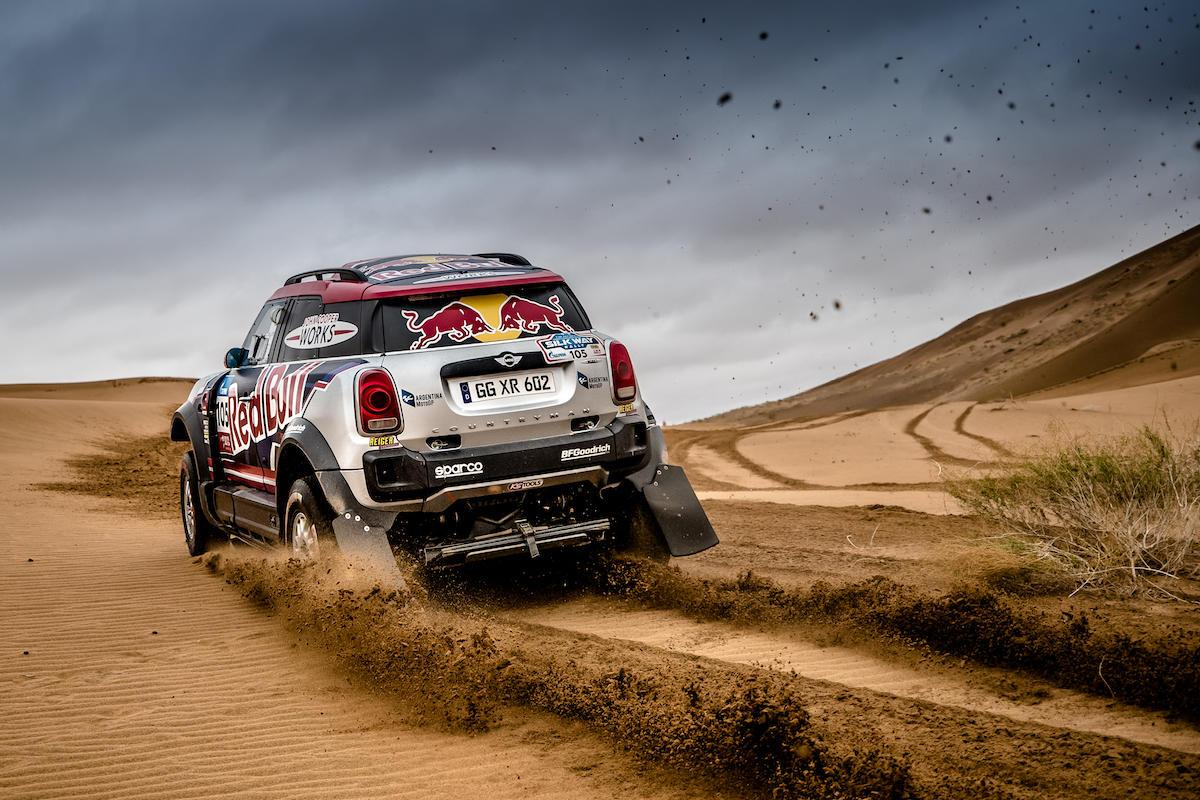 Mini will be disappointed with its performance in the Silk Way Rally