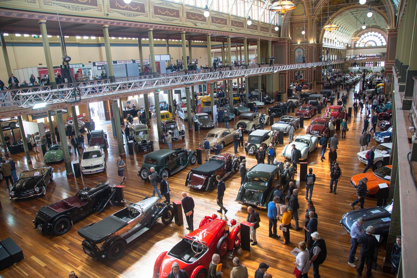 Held at the beautiful Royal Exhibition building in Melbourne, Australia, Motorclassica once again provided an unparalleled treat for lovers of cars and motorcycles from all eras