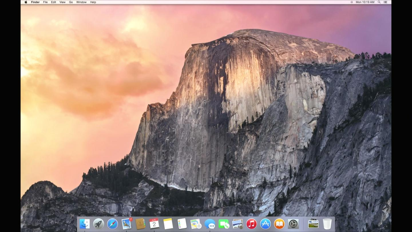 Apple's OS X Yosemite brings a flatter, cleaner look to the Mac operating system