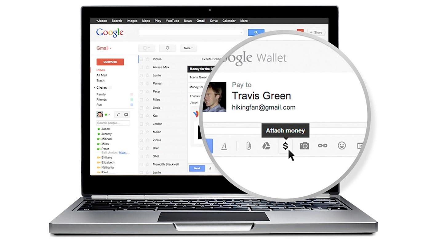 Google will soon be rolling out a new feature that lets you attach money to Gmail messages