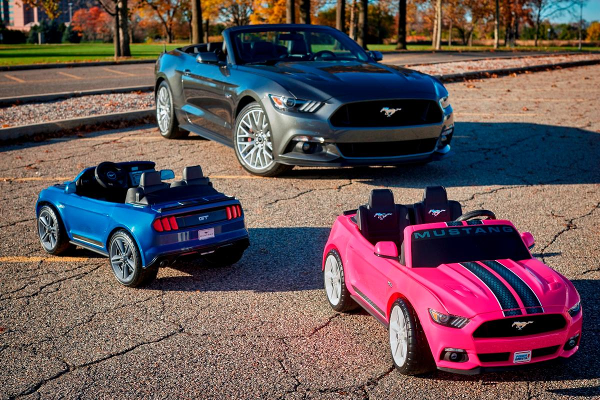 The Smart Drive Mustang will sell for $360 and come in choice of pink or blue