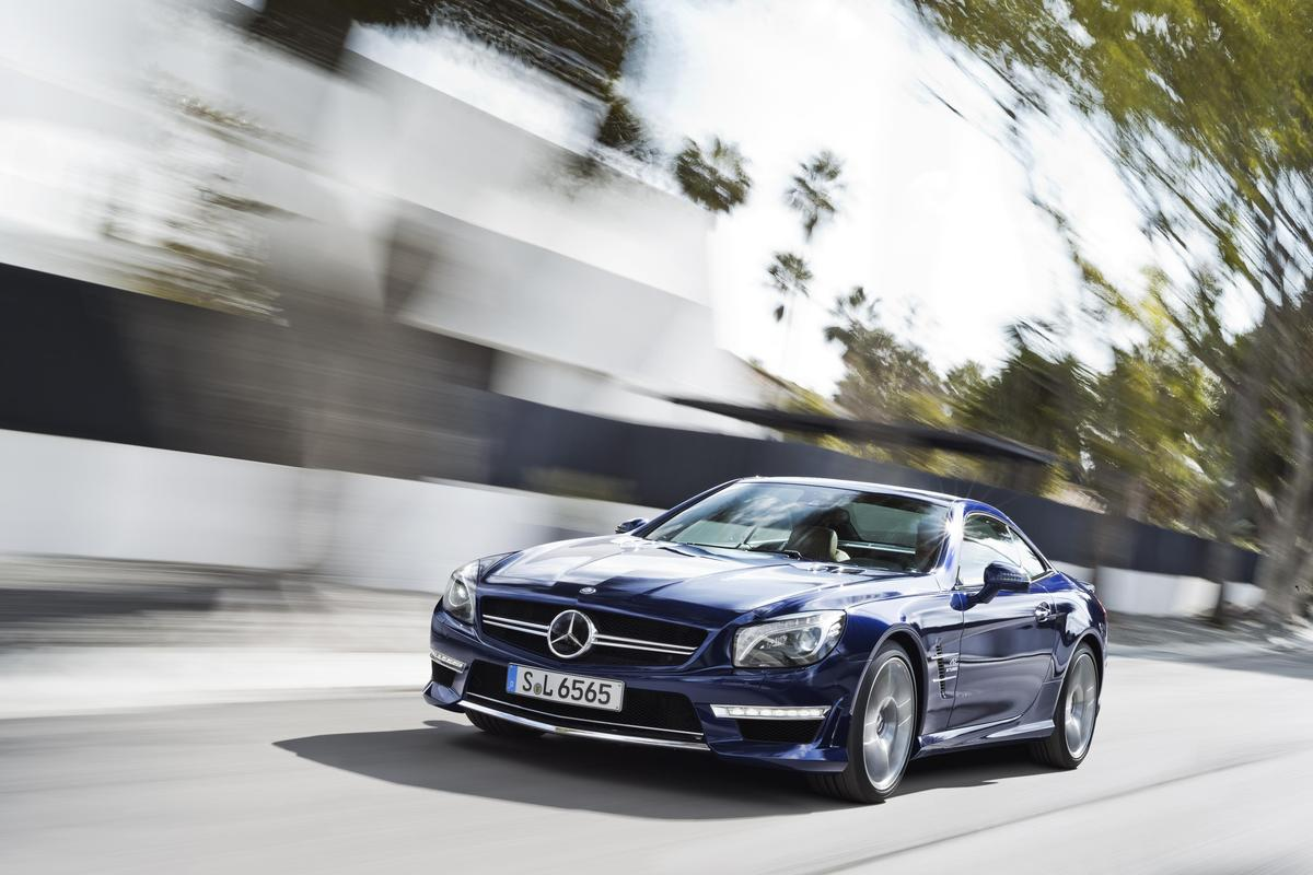 The 2013 Mercedes-Benz SL 65 AMG that will be available in September 2012