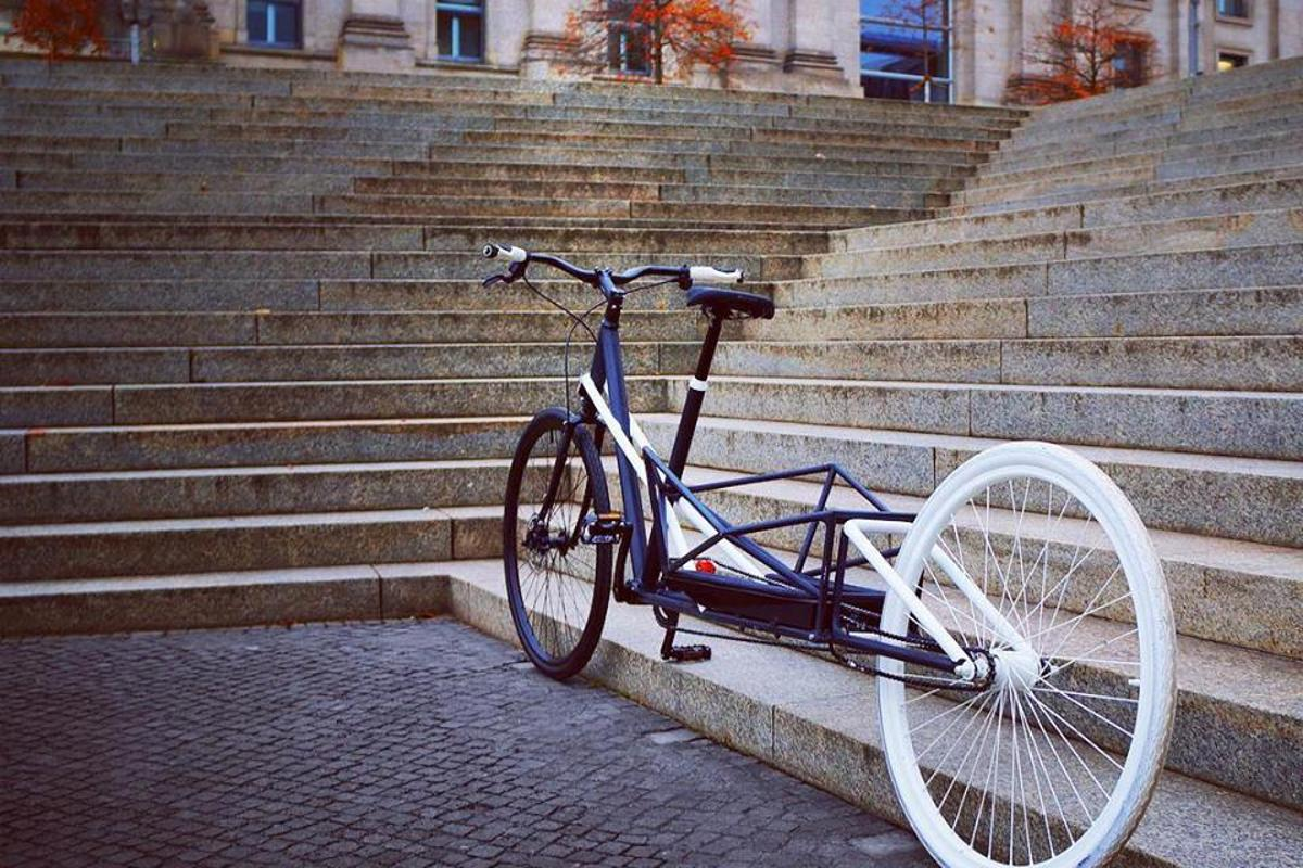 The Convercycle in its native Frankfurt