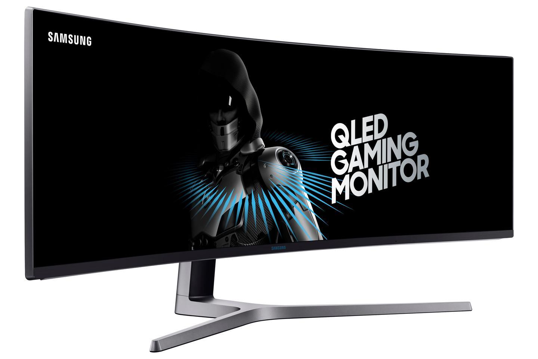 It's big. It's beautiful. It's Samsung's new CHG90 ultra-wide gaming monitor