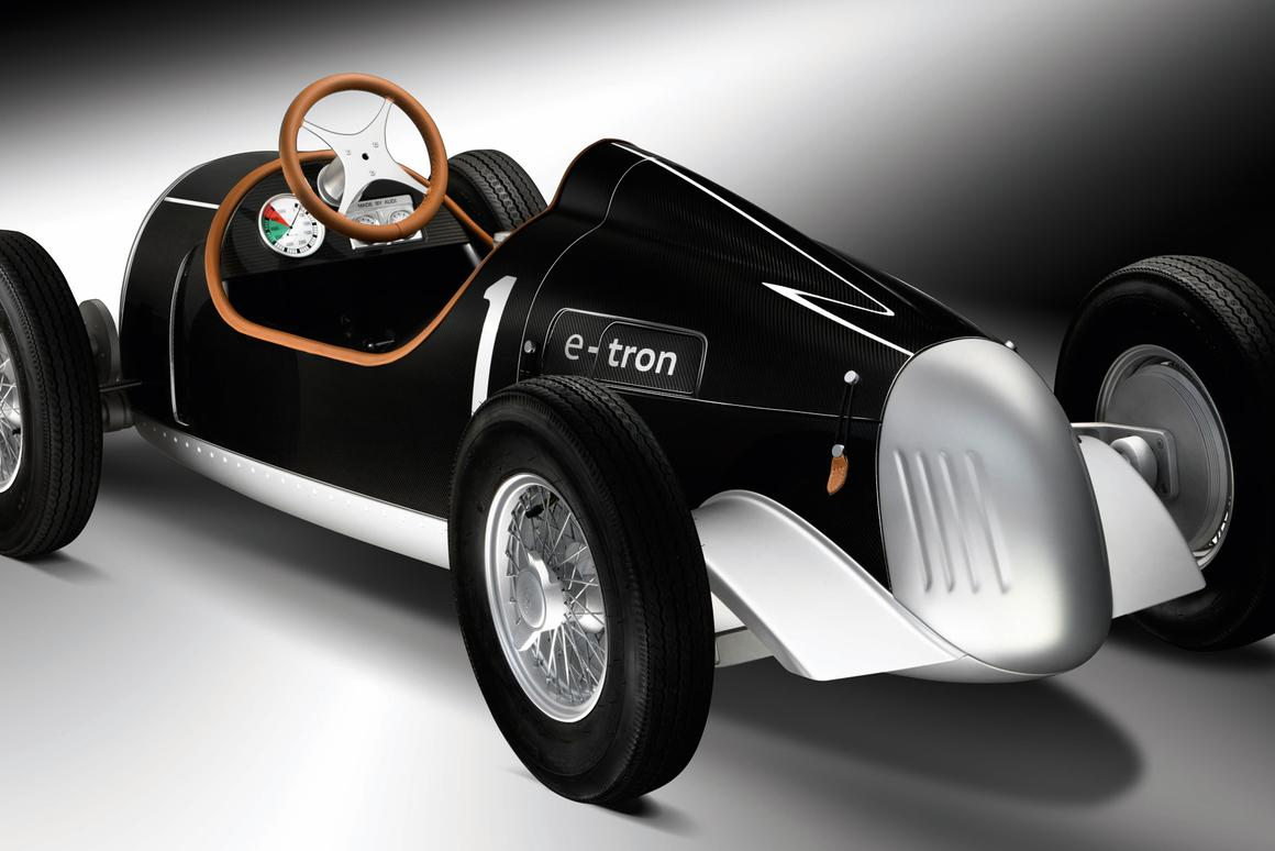 Audi's pint-sized Auto Union Type C e-tron study