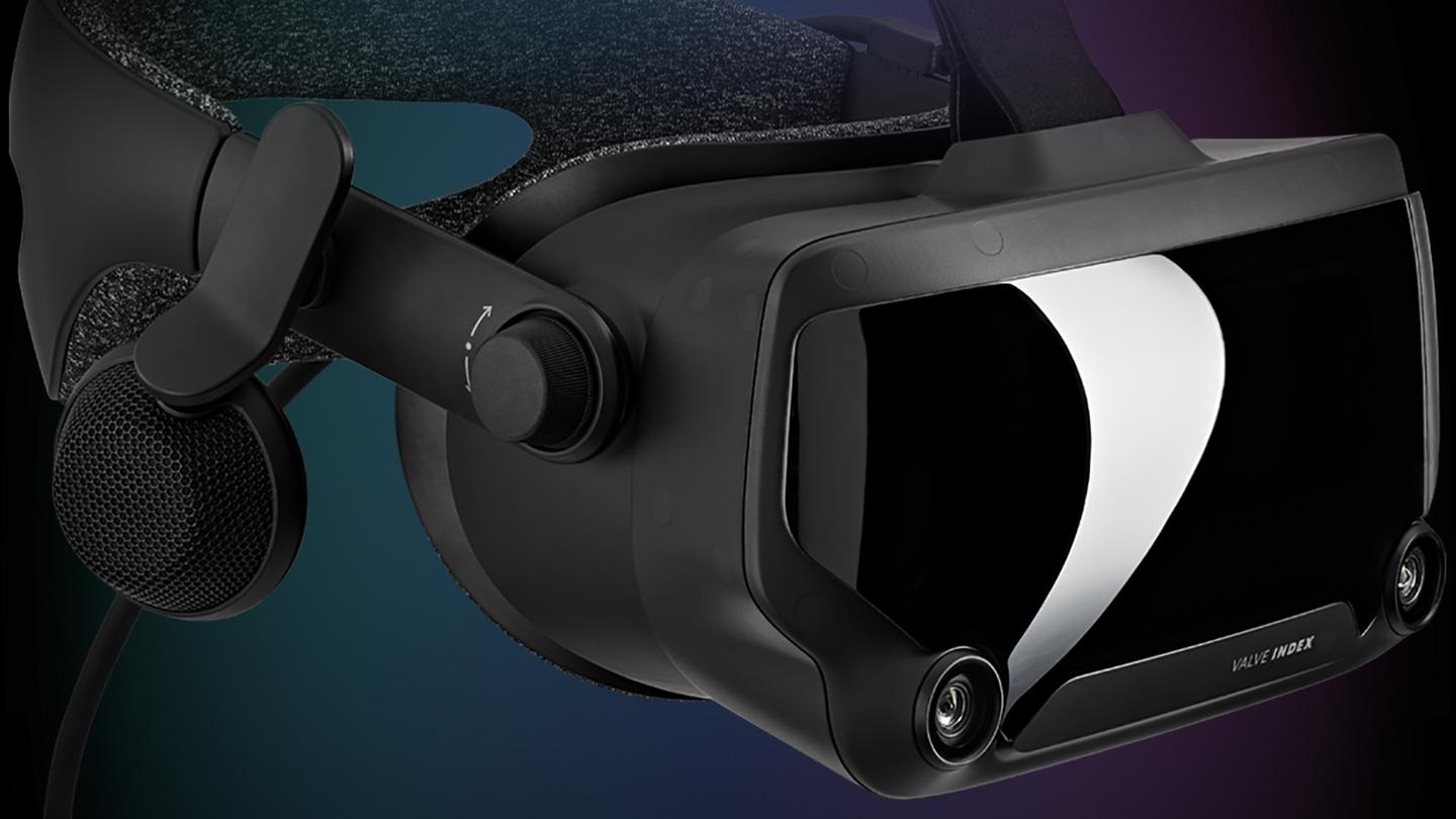 The Index is Valve's first VR headset not made in partnership with HTC