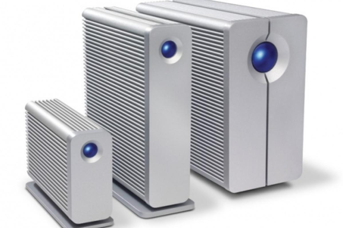 LaCie's new range of NAS solutions