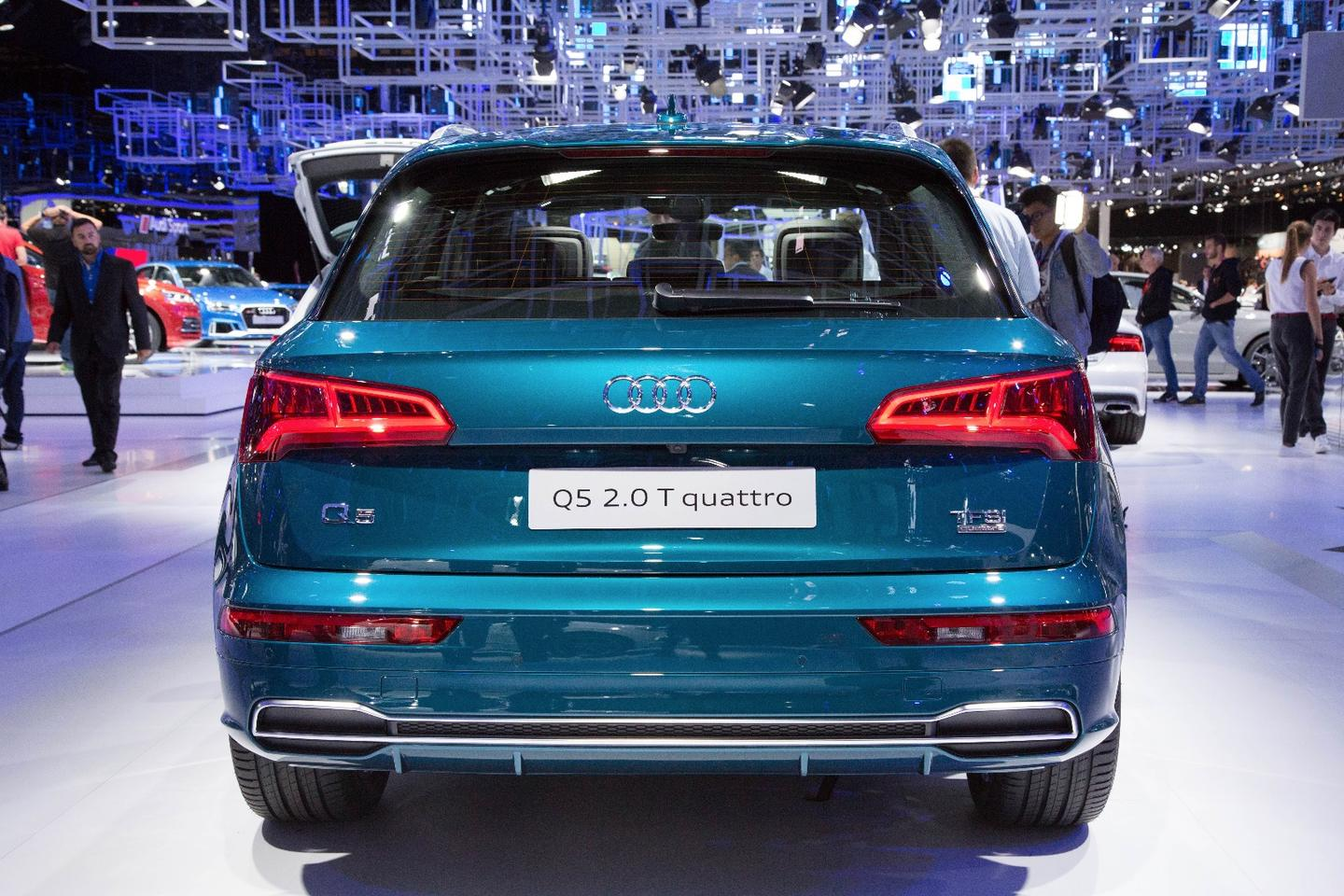 The Q5 is all new, but looks very similar to the old model from the outside