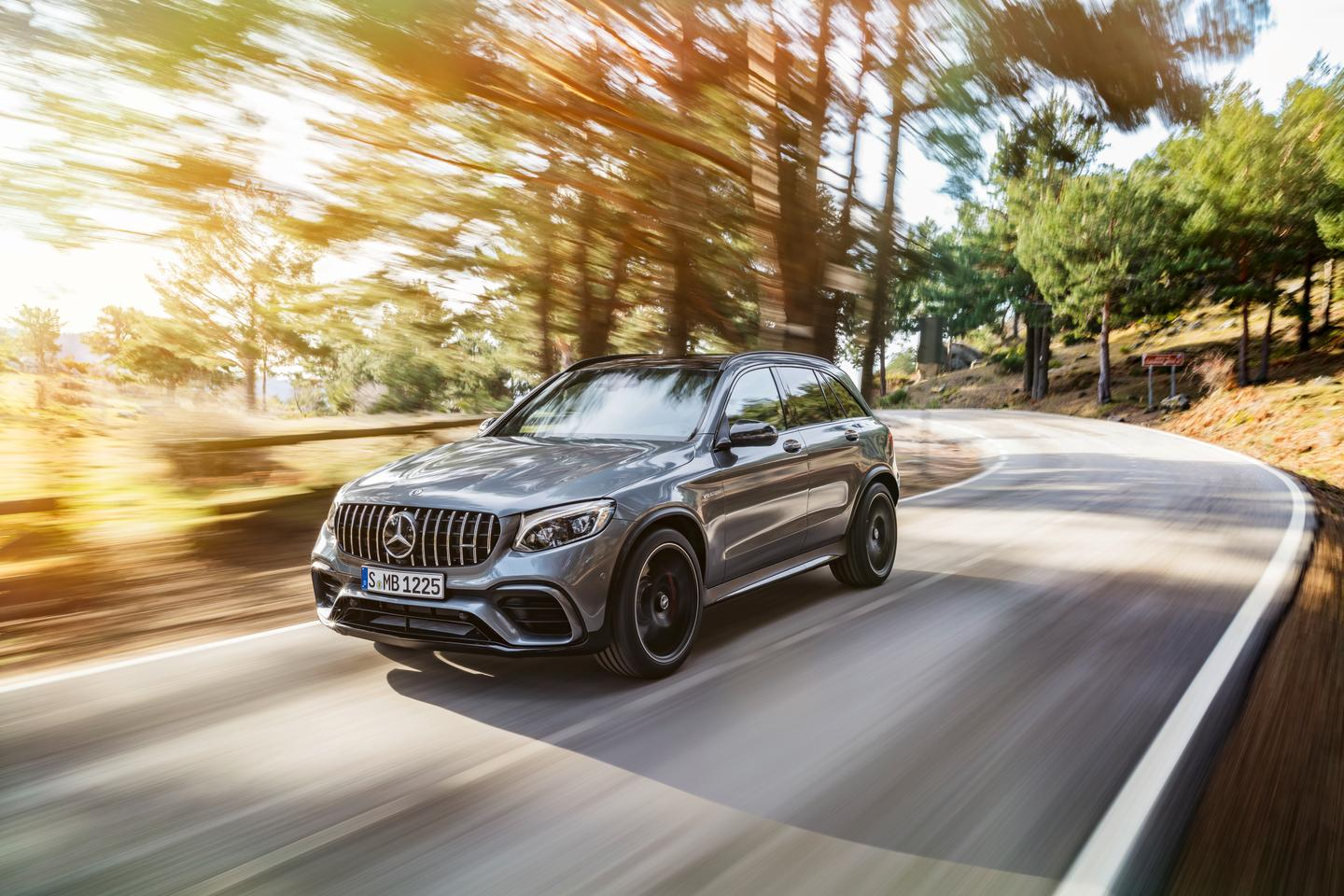 The Panamerica grille on the GLC63 has been borrowed from GT supercar