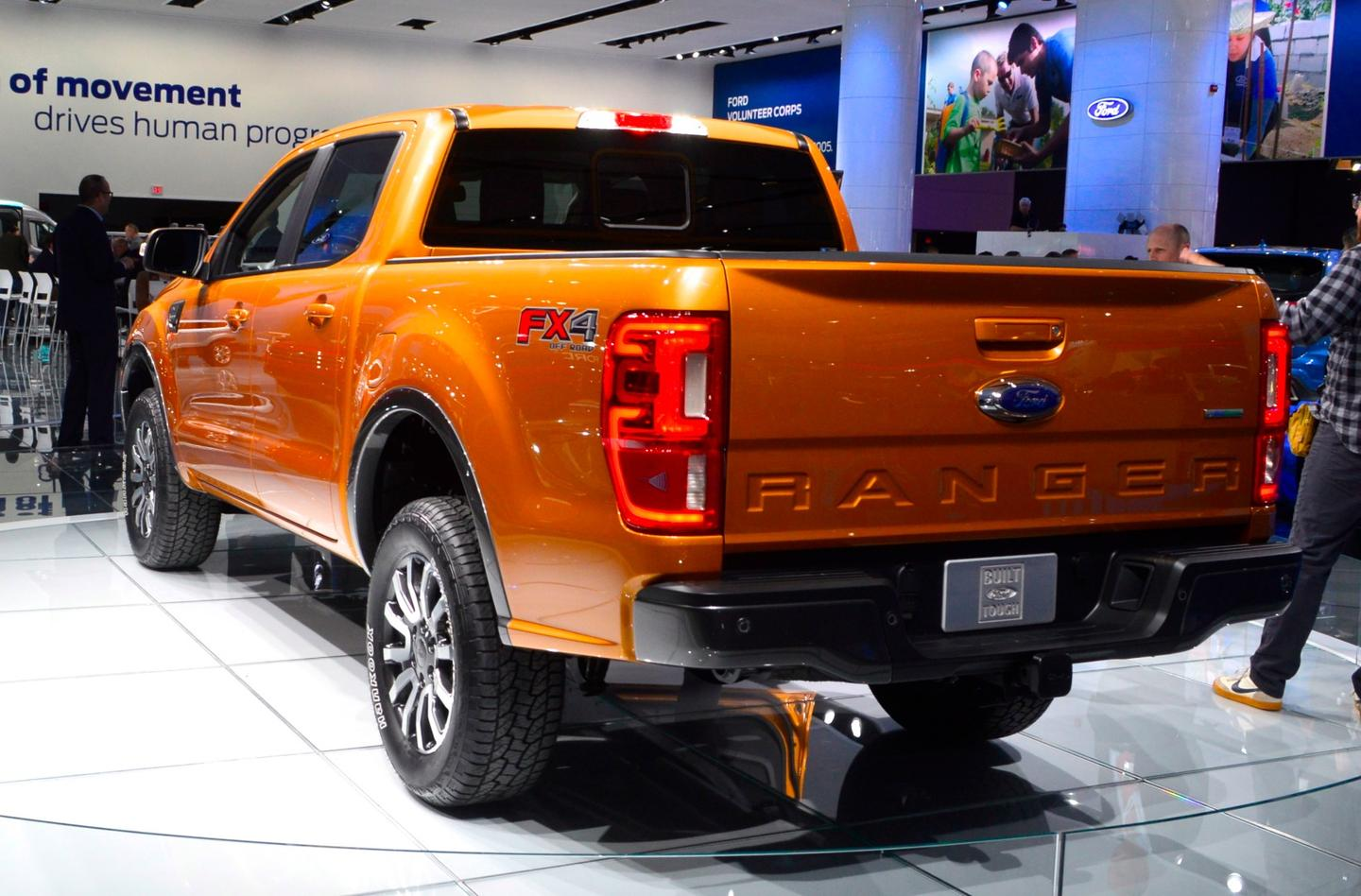 Ford debuts the all-new 2019 Ranger at the 2018 Detroit auto show