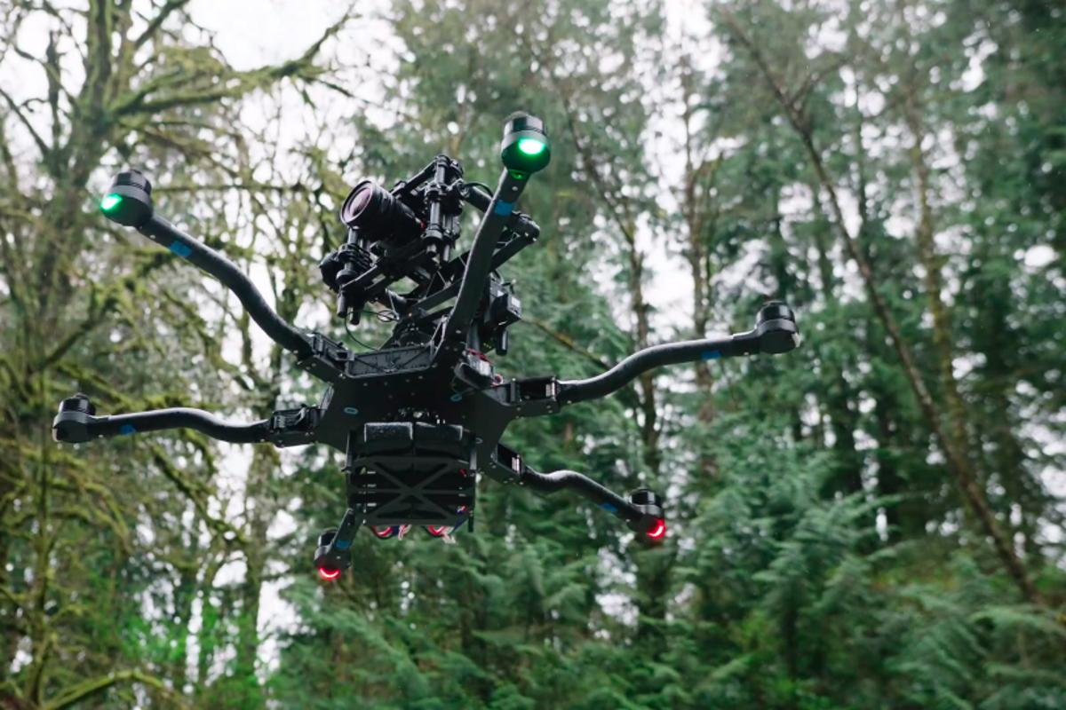 Seattle-based Freefly Systems unveiled its new Alta drone at this week's NAB show in Las Vegas