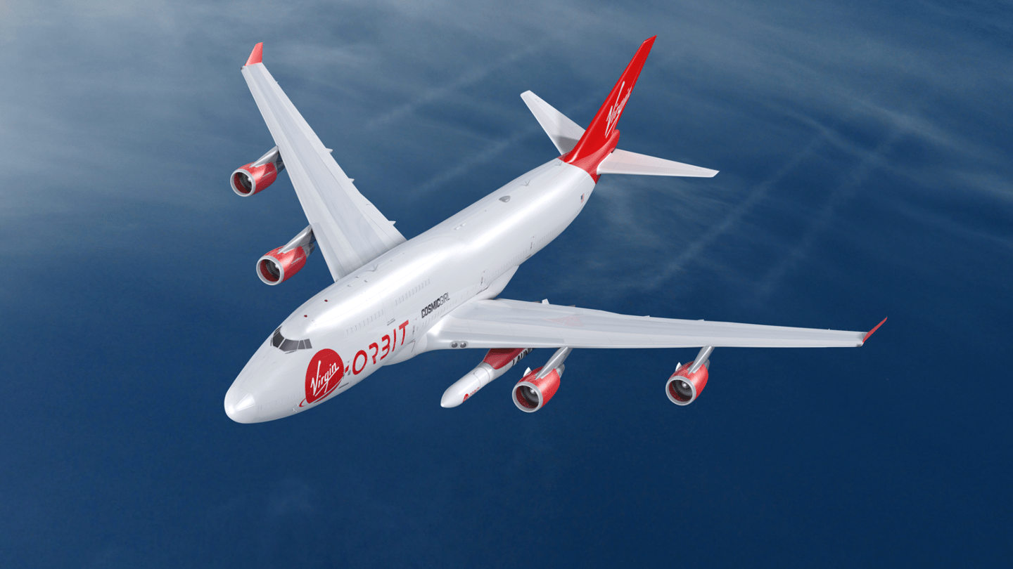 Virgin Orbit says launching rockets from an airplane rather than a launchpad on the ground has a few benefits
