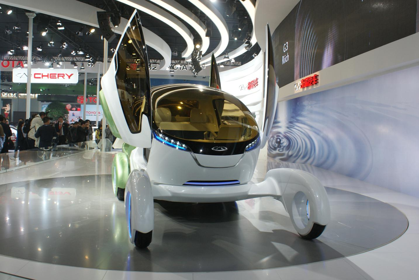 Chery's Ant Concept at Auto China in Shanghai