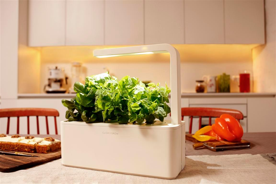 Click and Grow has launched its Smart Herb Garden