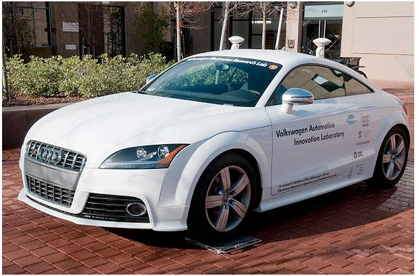 Shelley, the robotic Audi TTS, will attempt to climb the 147-bend Pikes Peak hillclimb without a driver