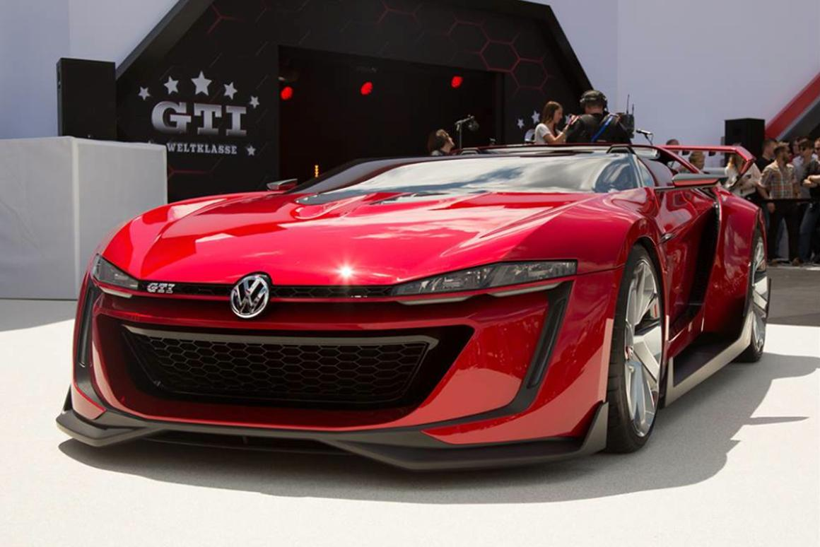 VW debuts the GTI Roadster Vision Gran Turismo at Wörthersee 2014