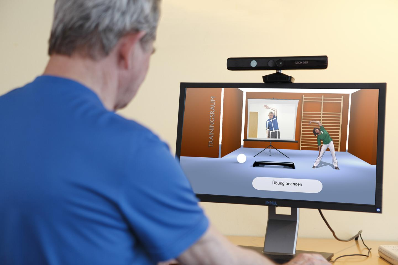 Fraunhofer's telerehabilitation system in use